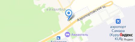 Аэросибсервис на карте Самары