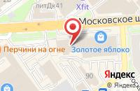 Схема проезда до компании ТехГазСнаб в Ульяновке