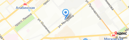 ТиСт на карте Самары