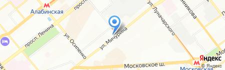 Самара-Дон-Строй на карте Самары