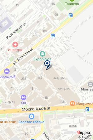 PATRISAPLUS - СТУДИЯ МАНИКЮРА МАРИИ МАТВЕЕВОЙ на карте Самары