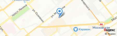 Онтел на карте Самары