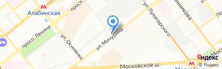 Дачница на карте Самары