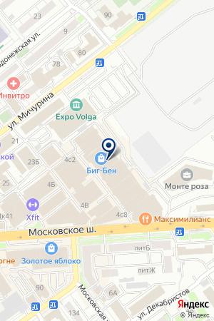 ANS на карте Самары