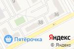 Схема проезда до компании Сластена в Придорожном