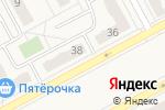 Схема проезда до компании Фабрика качества в Придорожном