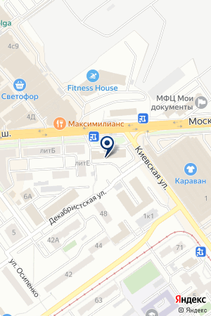 Ипотечный брокер на карте Самары