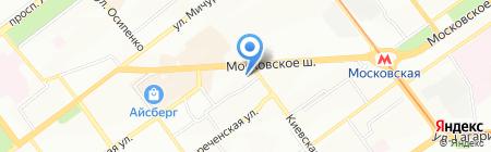 А-сервис на карте Самары