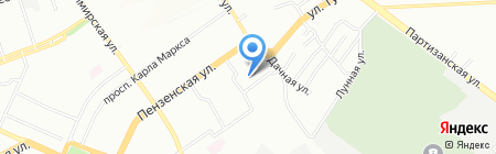 Детский сад №377 на карте Самары