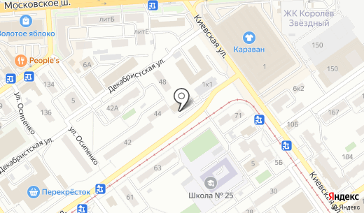 Марта-дизайн. Схема проезда в Самаре
