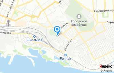Местоположение на карте пункта техосмотра по адресу г Самара, ул Юзовская, д 3А
