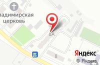 Схема проезда до компании Панчер в Лобаново