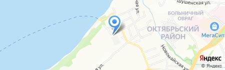 Волгострой на карте Самары