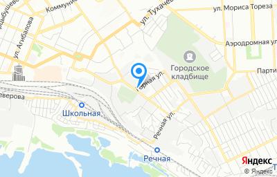 Местоположение на карте пункта техосмотра по адресу г Самара, ул Новоурицкая, д 22