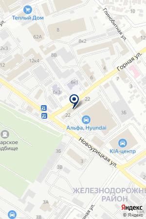VIP-АВТО-ЦЕНТР на карте Самары
