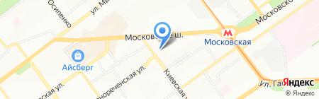 Антиквариат на Киевской на карте Самары
