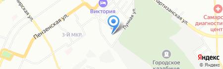 Региком на карте Самары