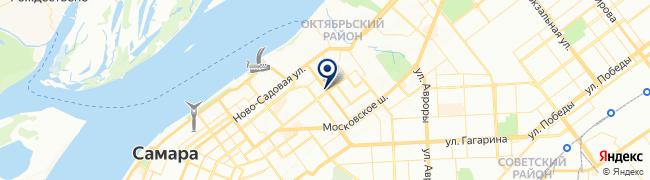 Расположение клиники Клиника доктора Зотеева