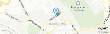 Жигули на карте Самары