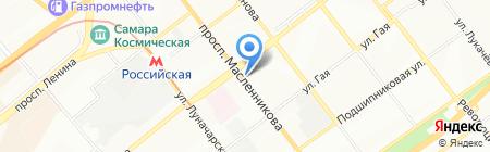 Союз-Сервис на карте Самары