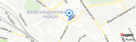 Opel на карте Самары
