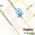 Отдел военного комиссариата Самарской области по Октябрьскому на карте Самары
