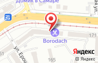 Схема проезда до компании Гарантийный Фонд Поддержки Предпринимательства Самарской Области в Самаре