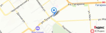Магазин овощей и фруктов на карте Самары