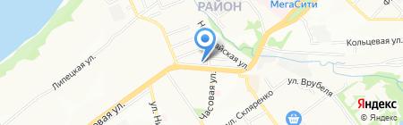 Бумер на карте Самары