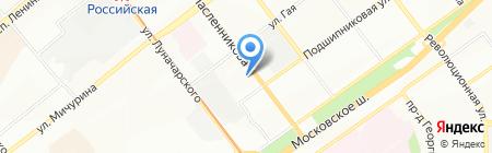 ИУТАР на карте Самары