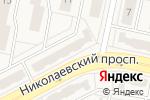 Схема проезда до компании ELITMEBELI в Придорожном