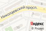 Схема проезда до компании Светлячок в Придорожном