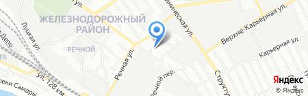 ПМС на карте Самары