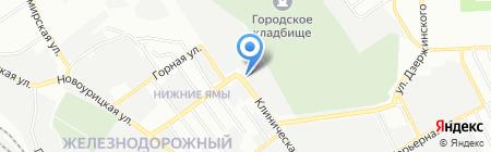 ТИС на карте Самары