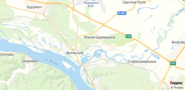 Малая Царевщина на карте