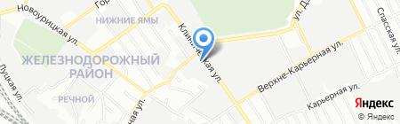 СТОА №1 на карте Самары