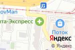 Схема проезда до компании Уют-7, ТСЖ в Самаре