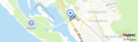 Бриз на карте Самары