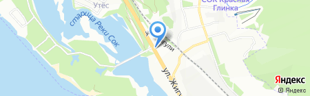 Эконом на карте Самары