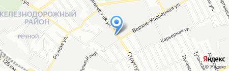 Профлин на карте Самары
