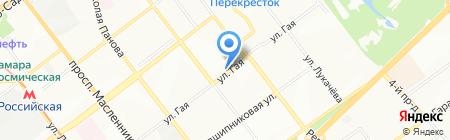 Остап на карте Самары