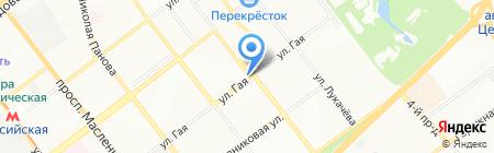 Магазин автотоваров на карте Самары