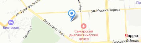 Детский сад №341 на карте Самары