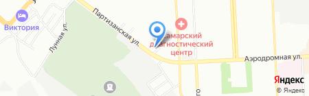Бельвейс на карте Самары