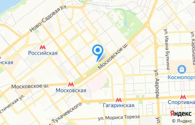 Местоположение на карте пункта техосмотра по адресу г Самара, ш Московское, д 20