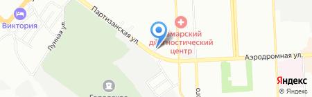 Эмэкс С на карте Самары