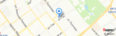 Гостиница на карте Самары