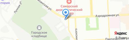Натали-Групп на карте Самары