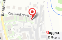 Схема проезда до компании Красноглинское в Самаре