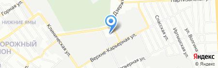 Ассоциация клевер на карте Самары
